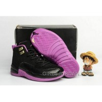 "2017 Kids Air Jordan 12 ""Hyper Violet"" Basketball Shoes Top Deals"