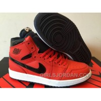 Mens Air Jordan 1 High Red Black 2017 For Sale Christmas Deals