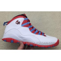 "2017 Mens Air Jordan 10 ""Chicago Flag"" For Sale Top Deals"