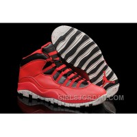 "Mens Air Jordan 10 ""Gym Red"" For Sale Christmas Deals"
