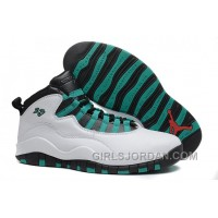 "Mens Air Jordan 10 Retro ""Verde"" For Sale Free Shipping"