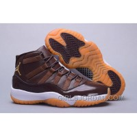 "2017 Mens Air Jordan 11 ""Brown Gum"" For Sale Online"