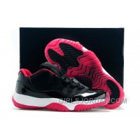 "Mens Air Jordan 11 Low ""Bred"" Black/Varsity Red White For Sale Cheap To Buy"