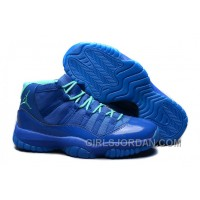 Online Mens Air Jordan 11 Retro Purple Aqua For Sale