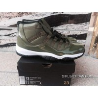 Air Jordan 11 Olive Green Super Deals