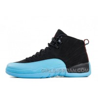 Mens Air Jordan 12 Retro Gamma Blue Black/Gamma Blue-Gym Red-White For Sale Online