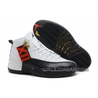 "Cheap To Buy Mens Air Jordan 12 Retro ""Taxi"" White/Black-Taxi For Sale"