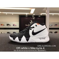 Nike Off-White Kyrie 4 X 18 Spring Ep Owen Creative To Be Customized Men Basketball Sport Shoes Combat Weapon At Light Field Coding Air Jordan 16 91 100 Top Deals
