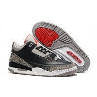 "2017 Mens Air Jordan 3 ""Black Cement"" For Sale"
