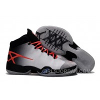 Lastest Mens Air Jordan 30 XXX Black-White/Orange PE For Sale