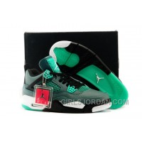 "Mens Air Jordan 4 30th Anniversary ""Teal"" For Sale Discount"