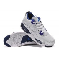 "Mens Air Jordan 4 ""Columbia"" White/Columbia Blue-Midnight Navy For Sale"