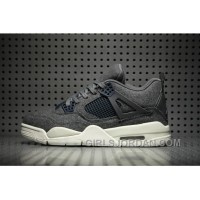 Air Jordan 4 Wool Dark Grey For Sale
