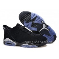 "Mens Air Jordan 6 Low ""Black/Metallic Silver"" For Sale Authentic"