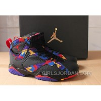 "2017 Mens Air Jordan 7 ""Nothing But Net"" For Sale Discount"