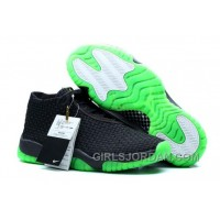 Mens Air Jordan Future Black/Green For Sale Super Deals