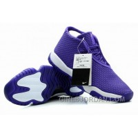 Mens Air Jordan Future Glow Purple White For Sale Free Shipping