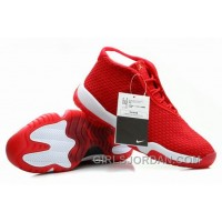 Mens Air Jordan Future Glow True Red For Sale Authentic