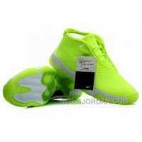 Mens Air Jordan Future Glow Volt Gray For Sale Free Shipping