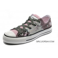 Pink CONVERSE Punk Collection Pirate Pattern S Canvas Shoes Top Deals