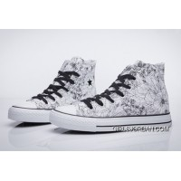 CONVERSE Chuck Taylor Flower Print High Tops Grey All Star Online