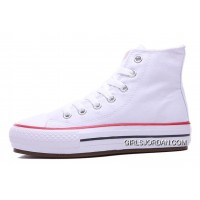 White High S CONVERSE Platform Women Chuck Taylor All Star Women Shoes Top Deals