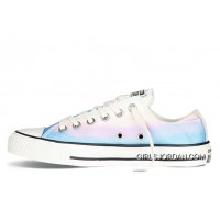 CONVERSE Chuck Taylor All Star Photo Real Sunset Print Blue Low New Style