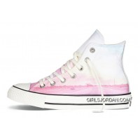 Pink High CONVERSE Chuck Taylor All Star Photo Real Sunset Print Shoes New Release