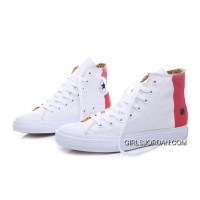 CONVERSE Undefeated White Red Tonal Stitching Chuck Taylor All Star High Free Shipping