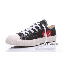 CONVERSE Comme Des Garcons Play Chuck Taylor Black Sneakers Best