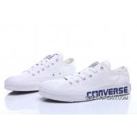 White CONVERSE Chuck Taylor All Star Canvas Shoes Lastest