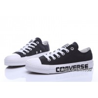 Black CONVERSE Chuck Taylor All Star Canvas Shoes Authentic
