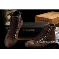 CONVERSE Fast And Furious Brown All Star High Tops Chuck Taylor Canvas Shoes New Style