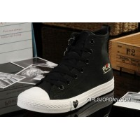 Black High Ps CONVERSE All Star Light Comme Des Garcons Play Canvas Shoes Cheap To Buy