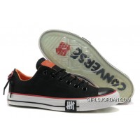 Undefeated Black CONVERSE All Star Tops Canvas Clear Rubber Soles New Release