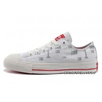 CONVERSE All Star CT OX 100 Club White Cloud Tops Canvas Trainers Copuon Code