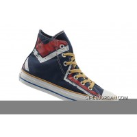 Blue CONVERSE All Star High S Red Graffiti Printed All Star Canvas Top Deals