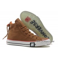Undefeated Khaki CONVERSE All Star High Ps Canvas Clear Rubber Soles Cheap To Buy