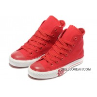 Red CONVERSE High Tops Lightning Chuck Taylor All Star Canvas Shoes Super Deals