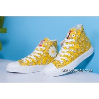 Yellow High CONVERSE X The Simpsons Chuck Taylor All Star Discount