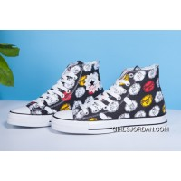 Black High Tops CONVERSE X The Simpsons Chuck Taylor All Star Best