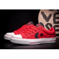 CONVERSE Star Player EV Red Black Chuck Taylor AS Canvas Cheap To Buy