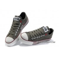 Grey CONVERSE All Star Multi Lines Tops Canvas Shoes For Sale