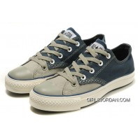 CONVERSE Christmas Collection Blue Grey Tonal Stitching Polk S Canvas All Star Shoes Top Deals