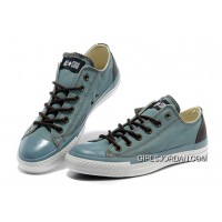 Light Blue CONVERSE Performer All Star Tops Canvas Shoes Discount