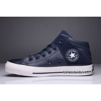 Blue CONVERSE Padded Collar All Star High Leather Terminator Genisys Chuck Taylor For Sale