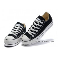 Black Platform CONVERSE All Star Canvas Women Shoes Classic Top Deals 237774