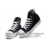 Black Platform CONVERSE All Star Canvas Women Shoes Classic Top Deals