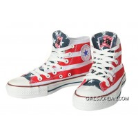 All Star CONVERSE American Flag By John Varvatos Canvas Sneaker New Style