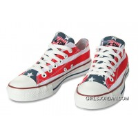 All Star CONVERSE American Flag By John Varvatos Canvas Sneaker New Release